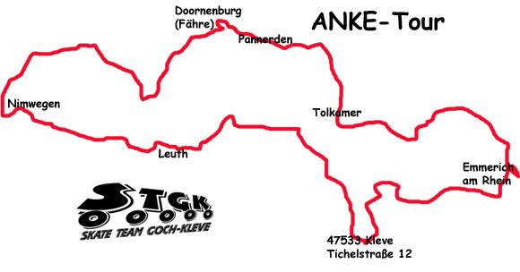 Skateroute ANKE tour